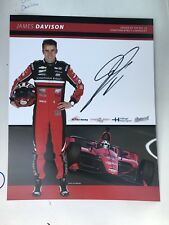Spencer Pigot 2019 Indy Car Indianapolis 500 Promo hero Card Autographed
