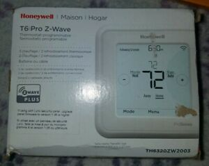 Honeywell-THERMOSTAT-PROGRAMMABLE-TH6320ZW2003-T6-PRO-SERIES-Z-WAVE-OPEN-BOX