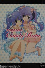 JAPAN Kyuta Sakai Hankenshuu Candy Rain art book (higurashi,Strawberry Panic )
