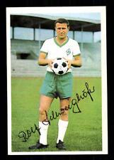 Rolf Schweighöfer Werder Bremen 1966-67 Bergmann Sammelbild Original Signiert