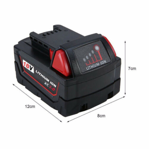 M18 For Milwaukee 48-11-1815 48-11-1811 18Volt XC 3.0 Li-ion Extended Battery US