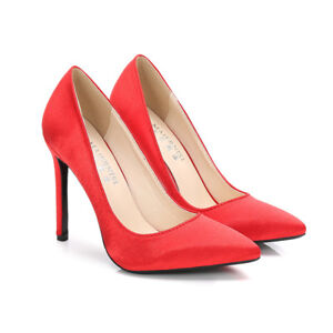 Satin-Pointy-High-Heels-Wedding-Mens-Pumps-Drag-Queen-Red-Large-Women-Date-Shoes
