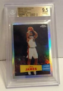 LeBron-James-2007-08-Topps-Chrome-Refractor-57-58-Variations-23-BGS-9-5-999-SP