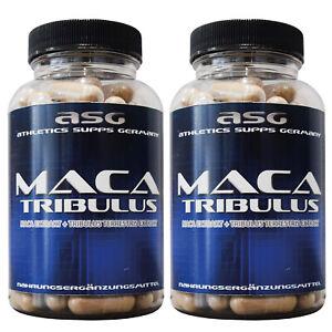 2 Dosen 180 ASG Tribulus 1100 Maca 1400 Testosteron