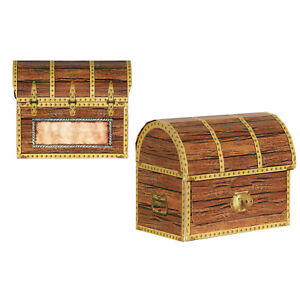 PIRATE-TREASURE-CHEST-PACK-4-LOOT-BAG-PARTY-DECORATION