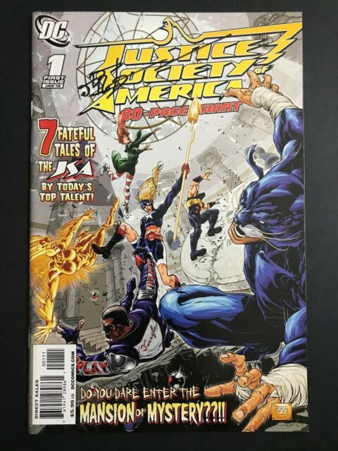 JSA 80 Page Giant 2011 Comic Book Justice Society DC