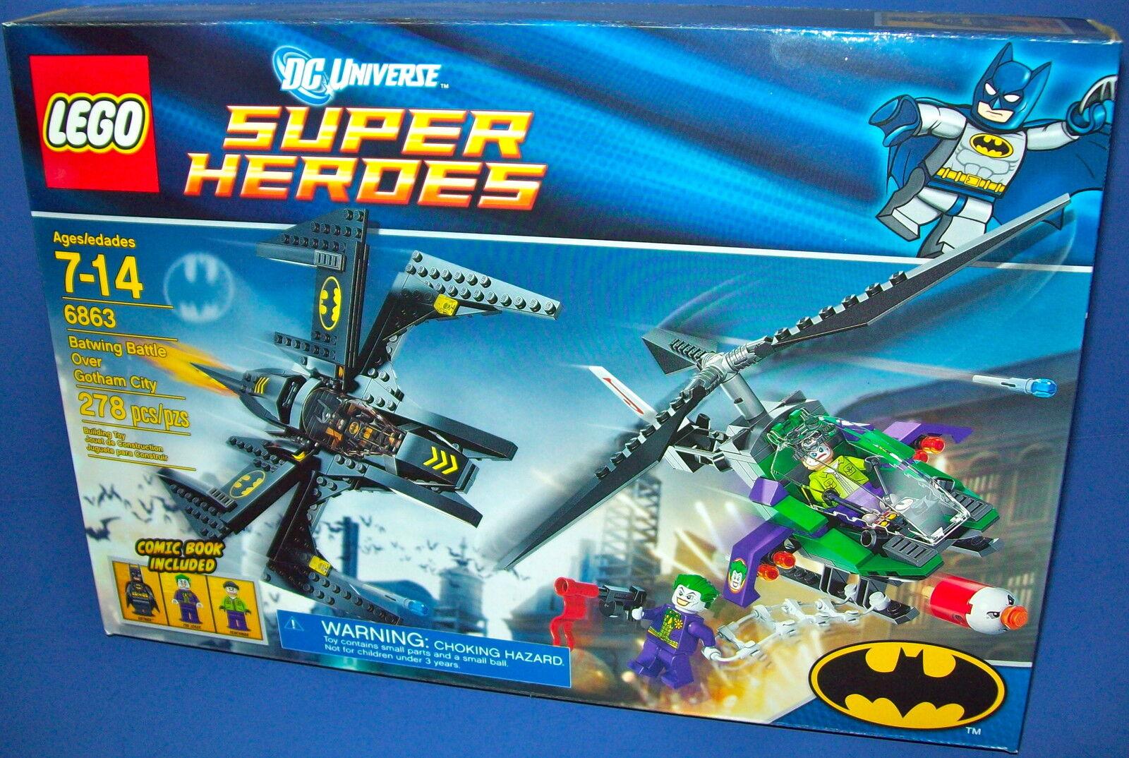 Lego 6863 Supereroi - Batwing Battle Over Gotham City Batman Ritirato