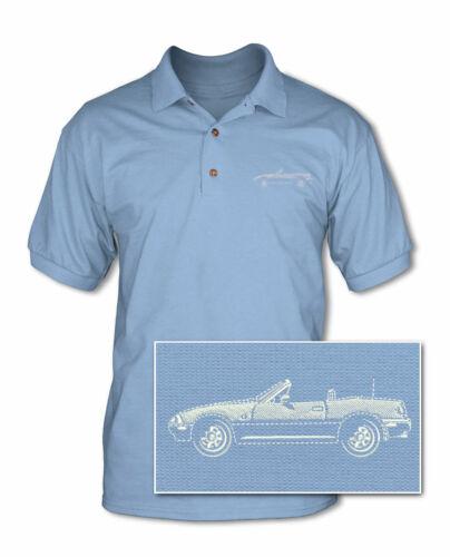 Japanese Car Multiple Colors /& Sizes Mazda Miata MX-5 Convertible Polo Shirt