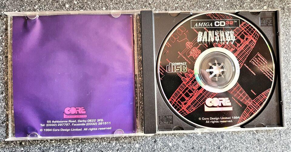 ** SOLGT ** Banshee, Commodore CD32