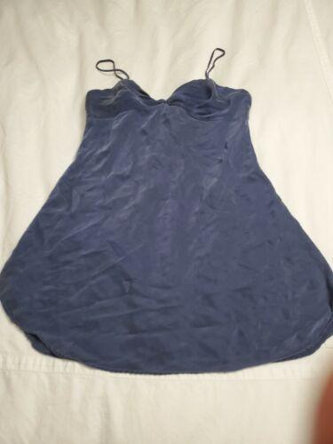 Vintage Victoria Secret 100% Silk Night Gown Size