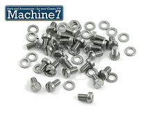 Classic VW Beetle Bug Engine Tinware Screw Slot Head & Washer Stainless 25pack