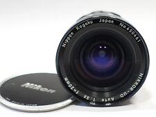 Nikon Nikkor UD 20mm 1:3 .5 Nippon Kogaku fábrica Ai Lente, montaje de cámara DSLR se ajusta