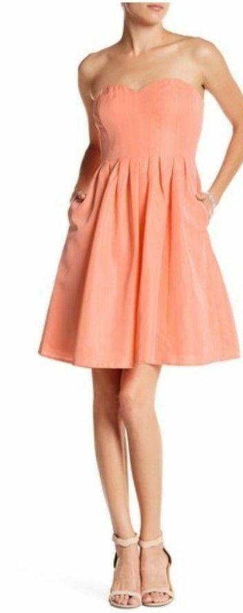 J Crew Wedding Womens Size 6 Bridesmaid Marlie Dress Classic Faille orange