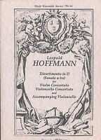 Leopold Hoffmann - Divertimento in D Major for Violin and 2 Violoncelli