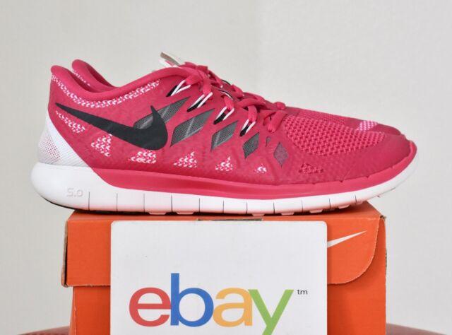 e88a1f28227f ... buy new womens nike free 5.0 vivid pink sizes 8.5 10 run flex 4.0 black  642199