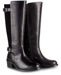 Joe-Browns-Women-039-s-Joe-Browns-Ultimate-Leather-Boots-Black-UK-5-RRP-200
