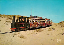 CAP FERRET 423  train descente chemin de fer locomotive couleurs chocolat tobler