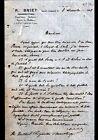 """SAINT-AMAND-MONTROND (18) COMMISSAIRE PRISEUR """"A. BRIET"""" en 1908"""