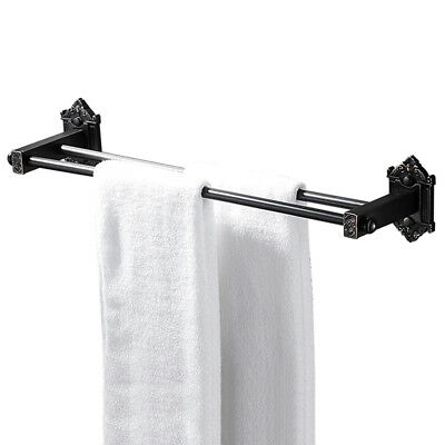 Bathroom 20-Inch Double Towel Bar Holder Rack Shelf Wall Mount Oil Rubbed Bronze