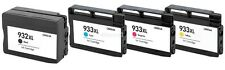 4PK For HP ink cartridges For HP 932 XL 933 XL OfficeJet Pro 6100 6600 6700
