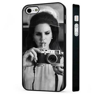 Lana Del Rey Art Pop Singer Fashion Black Phone Case Cover Fits Iphone Ebay
