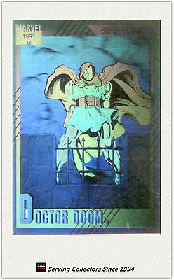 1992 Marvel Impel Doctor Doom Hologram Card H-4 MINT Condition FREE SHIPPING