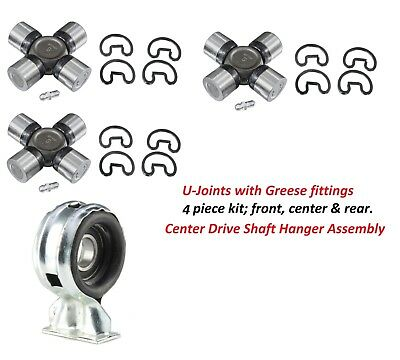 HANGER BEARING SUPPORT KIT 58 59 60 61 62 63 64 CHEVROLET CHEVY U JOINTS