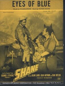 Eyes-of-Blue-1953-Shane-Alan-Ladd-Sheet-Music