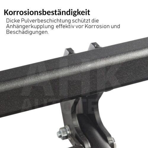Für Audi A3 8P 3-Tür Anhängerkupplung starr ABE