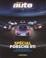 SPORT AUTO n°652/05/2016 EDITION COLLECTOR Spécial PORSCHE 911