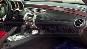 Details About Chevrolet Chevy Camaro Ls Lt Interior Aluminum Dash Trim Kit 2012 2013 2014 2015