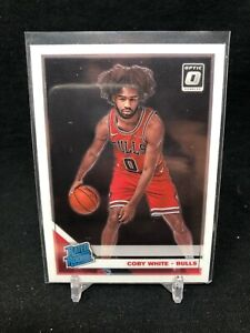 COBY-WHITE-ROOKIE-2019-20-DONRUSS-OPTIC-RATED-ROOKIE-CHICAGO-BULLS-ROOKIE-A87