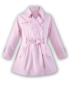 e49f0ebf9 Sarah Louise Pink Trench Coat Spring Toddler and Little Girls Sizes ...