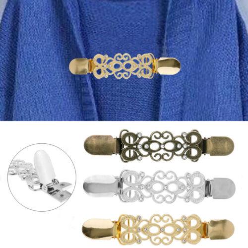 Retro Winter New Cardigan Clip Sweater Blouse Pin Shawl Brooch Duck Clip Clasps