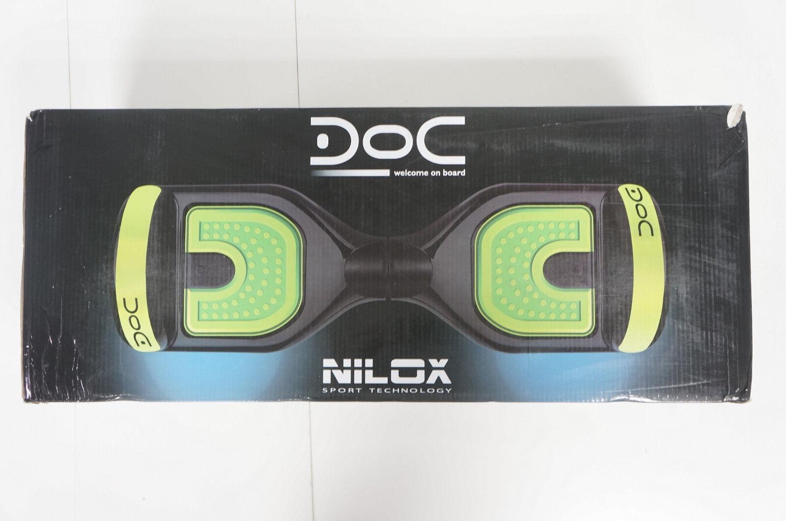 Nilox DOC Hoverboard C.F.SYG-031 C.F.SYG-031 C.F.SYG-031 Schwarz-Gelb NEU  781 6736ce