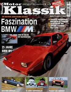 Motor Klassik 603 2003 Bmw M1 Messerschmitt Karo M3 E30 M5 E28 Mini