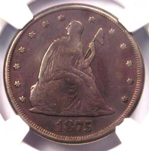 1875-CC-Twenty-Cent-Piece-20C-Certified-NGC-VF-Detail-Rare-Carson-City-Coin