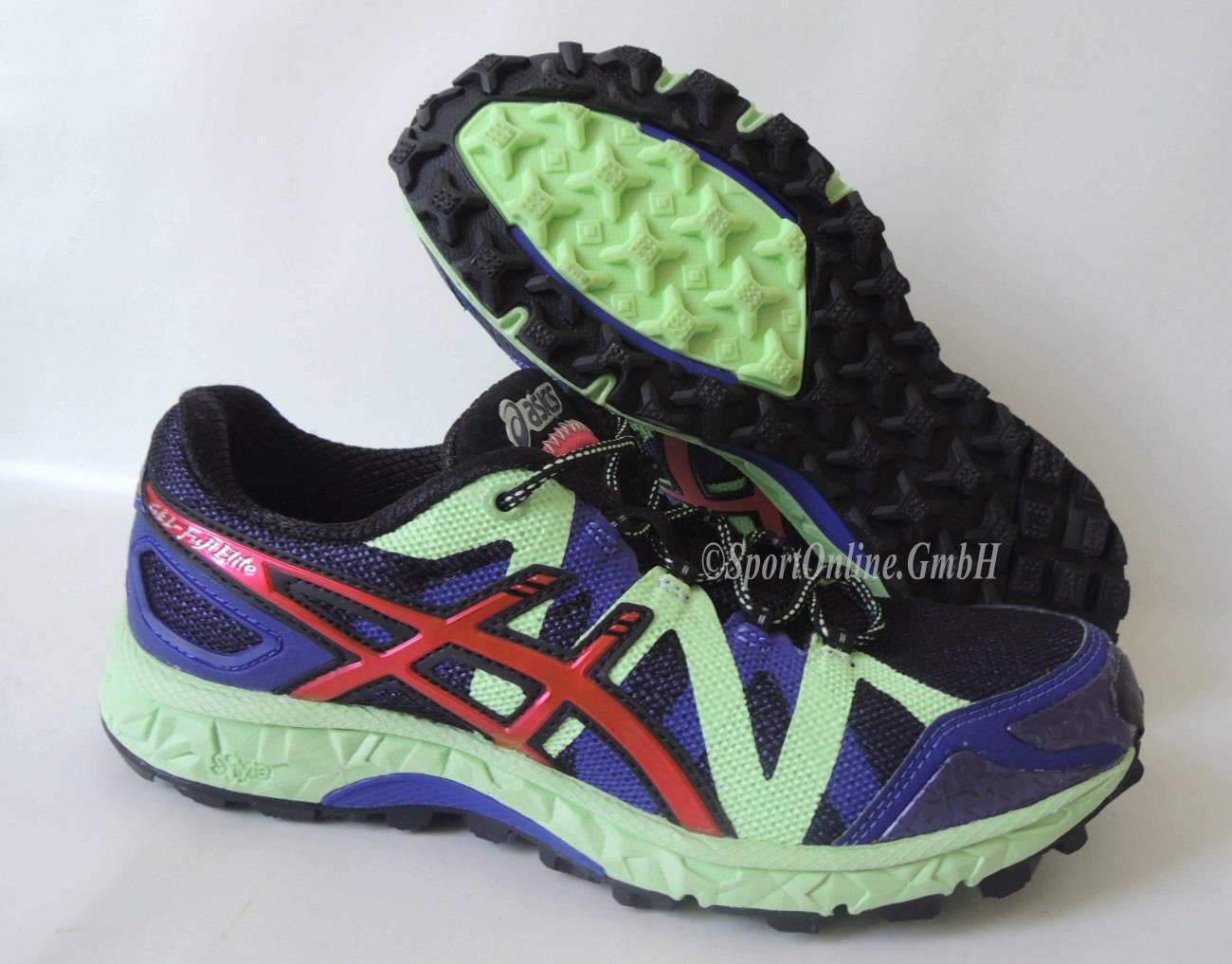 NEU Asics Gel Fuji Elite Damens 37,5 Running Schuhe Trail Laufschuhe T372N-4325