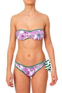 Sets Bikini Floral Women's Burberry Green 5FRgqvn