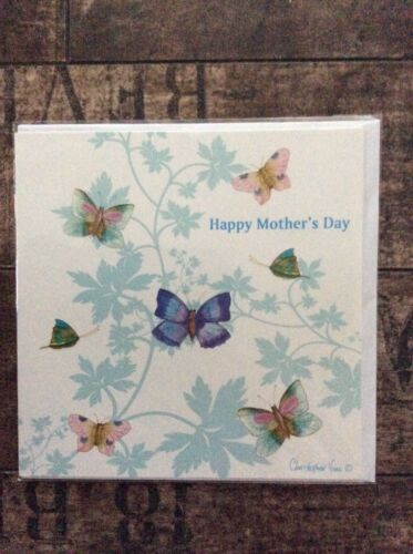 Greeting Card Happy Mothers Day Butterfly