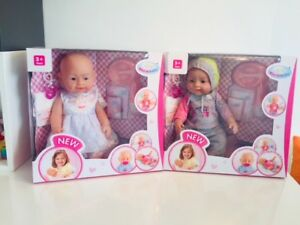 Baby Born Interactive Dolls with Accessories & Lifelike Functions,dolls play set