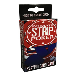 Intimate Strip Poker Playing Card Game NEW