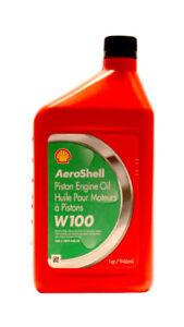 AeroShell-W-100-Flugmotorenoel-Aschefrei-Flugkolbenmotorenoel-0-946-Ltr