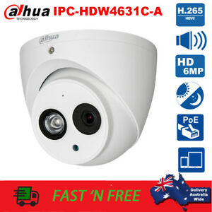 Dahua IPC-HDW4631C-A HD 6MP Built-in MIC Metal Home Security