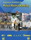 Ergonomic Guidelines for Manual Material Handling by National Institute Fo Safety and Health, Centers for Disease Cont And Prevention, Department of Health and Human Services (Paperback / softback, 2014)