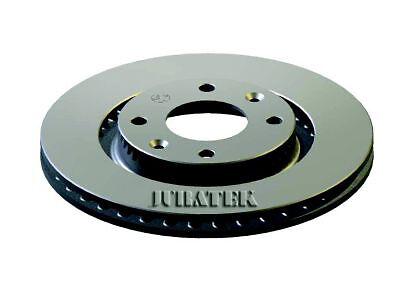 PAIR OF JURATEK QUALITY BRAKE DISCS CIT110 X2/266 mm FRONT