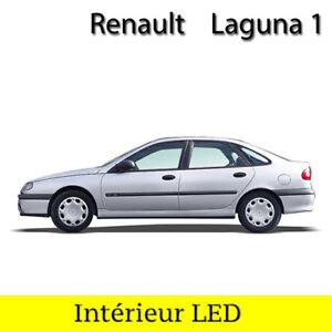 Logique Kit Complet Ampoules à Led Lumière Eclairage Intérieur Blanc Renault Laguna 1 Remise En Ligne