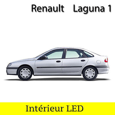 Kit Complet Ampoules à Led Lumière Eclairage Intérieur Blanc Renault Laguna 1