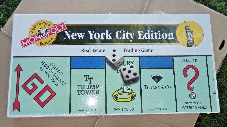 New York City Edition Monopoly autorisé Edition jamais joué NYC