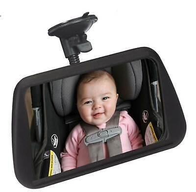 Justierbarer Auto Kfz Baby Rückspiegel Von Richter Mit 19 X 11 Cm Spiegelfläche HüBsch Und Bunt